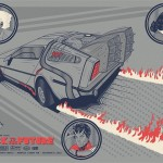 """Back To The Future"" Art Print"