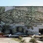Huge Mural by Street Artist Violant