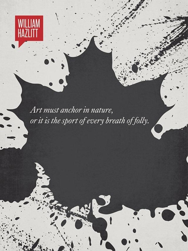 William-Hazlitt-Minimalist-Quotations---Design-Different