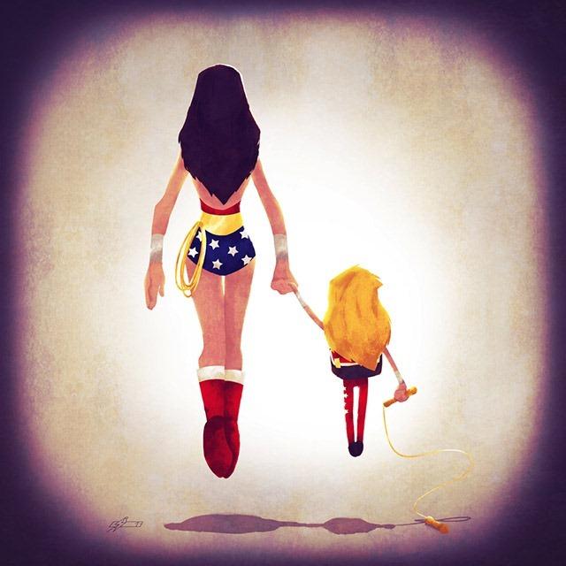 Wonder-Woman-mum-Andry-Shango-Rajoelina