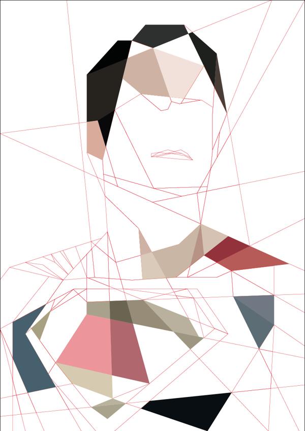 Man-of-Steel---Cubism-Art-by-Luis-Huertas-03