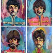 An Art Print Inspired by Sgt. Peppers Lonely Hearts Club Band