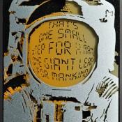 Alan Derrick's Fantastic 3D Metal Pop Art