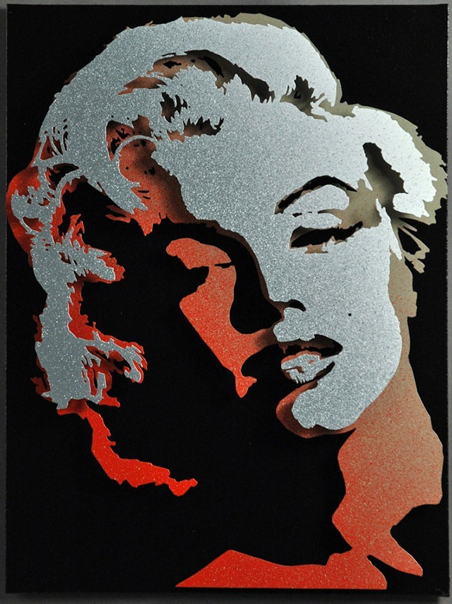Alan-Derrick-Marilyn-Monroe_Art_Red