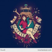 Doctor Who's Souffle Girl Pinup