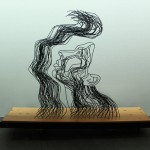 Gavin Worth's Wire Sculpture About Hope