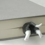Cat in the Book Bookmark