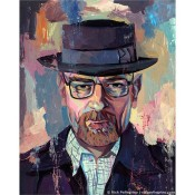"""Heisenberg"" -  Art Print Inspired by Breaking Bad"