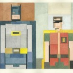 Adam Lister's 8-Bit Inspired Paintings of Iconic Images