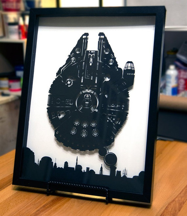 Millennium-Falcon-Over-Mos-Eisley-3D-Paper-Craft-by-Will-Pigg-05