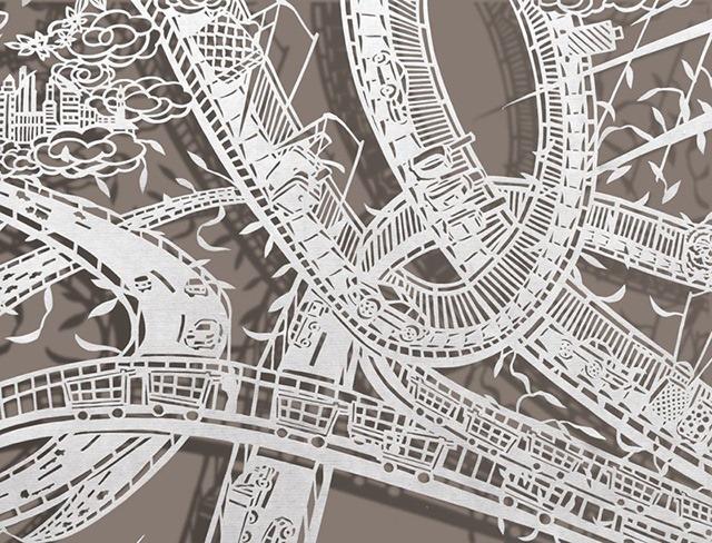 Bovey-Lee-Ribbon-Dancer-Cut-Paper-Artwork-02