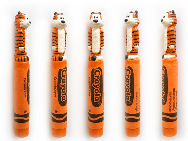 Hobbes-Crayon-Sculptures-by-Hoang-Tran