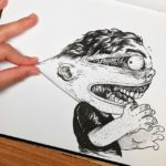 Artist Fights His Own Character Illustrations