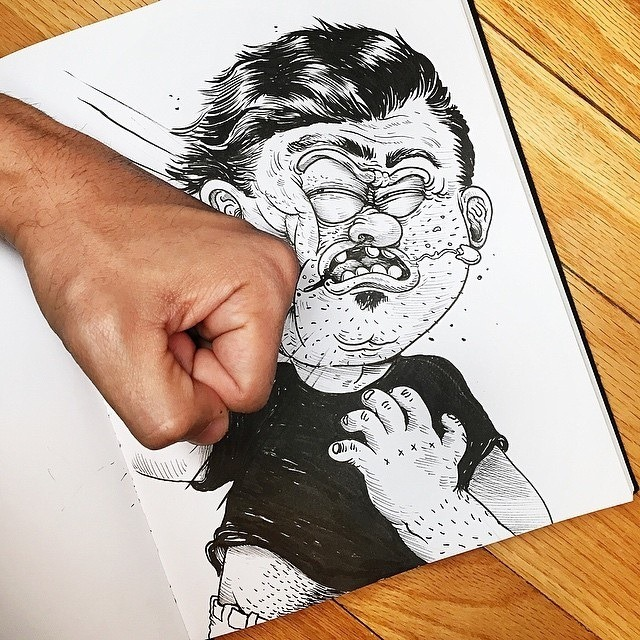 Inkteraction Illustrations by Alex Solis 02