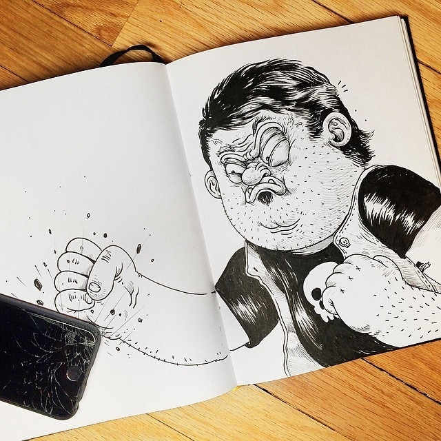 Inkteraction Illustrations by Alex Solis 05