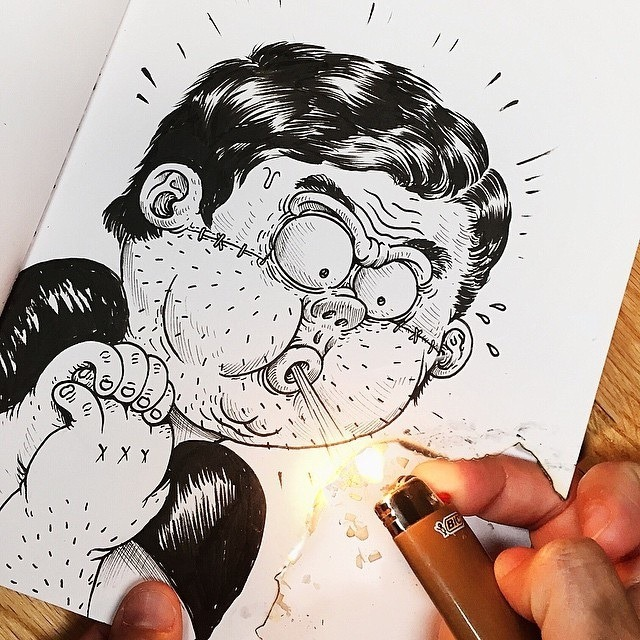 Inkteraction Illustrations by Alex Solis 08