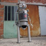 Cute Robot Sculptures Made From Recycled Materials