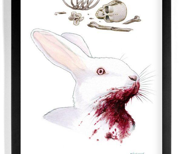 Killer-Rabbit-Monty-Python-and-the-Holy-Grail-Illustration-by-Ryan-Berkley