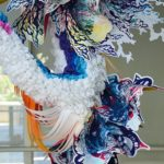 """Fall"" is an Incredible, 60 Foot Art Installation by Crystal Wagner"