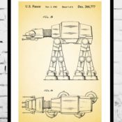 Beautiful Vintage Patent Art Prints by Jason Stanley
