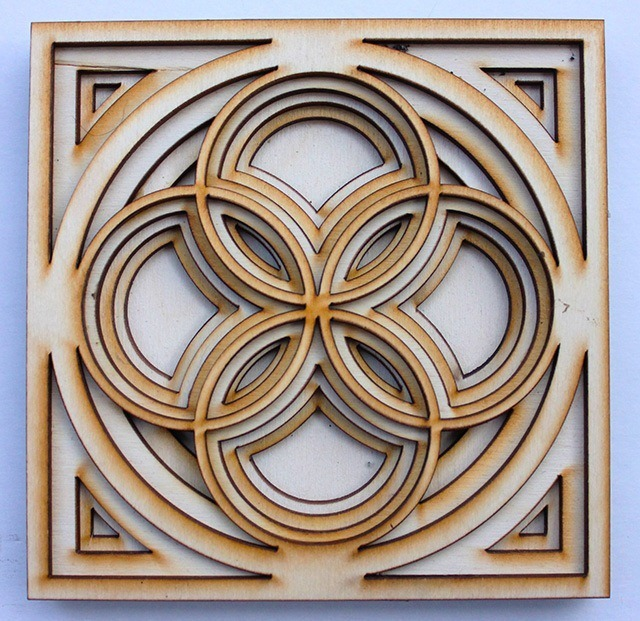 Laser Cut Wood Art by Ben James 03