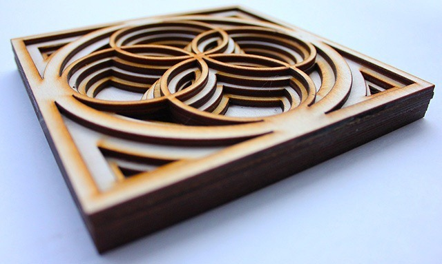 Laser Cut Wood Art by Ben James 04