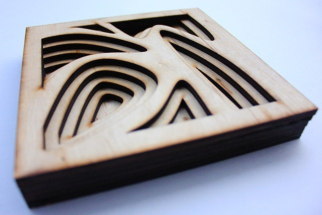 Laser Cut Wood Art by Ben James 10