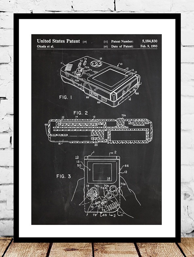 Nintendo-Gameboy-Patent-Print-by-Jason-Stanley