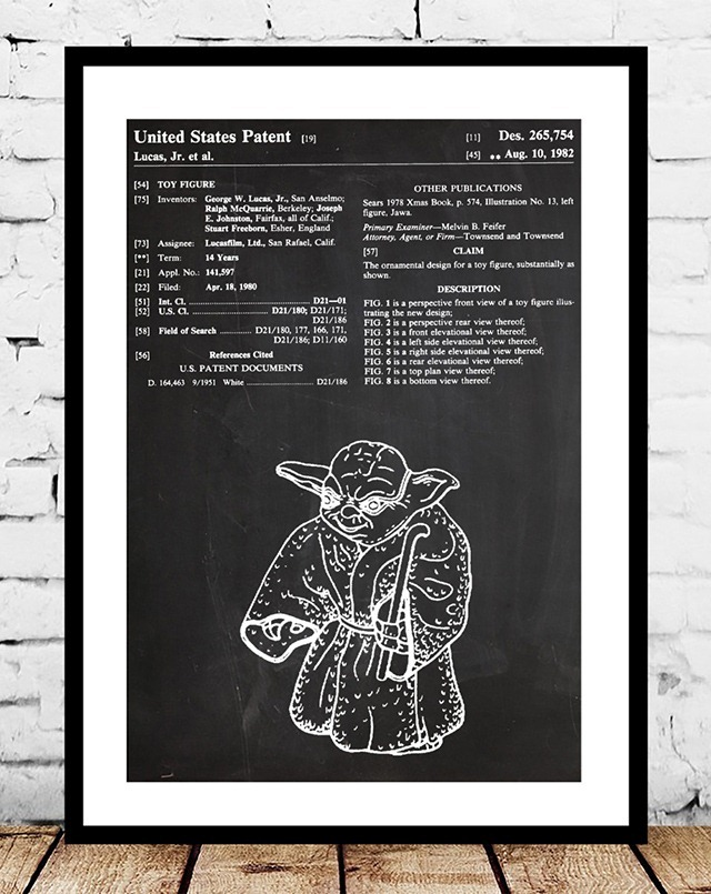 Yoda-Action-Figure-Patent-Print-by-Jason-Stanley