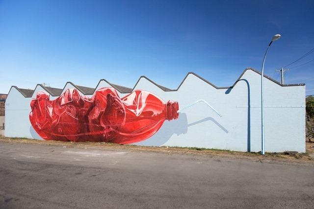 Exhausting Machine Street Art Mural by NEVERCREW 2