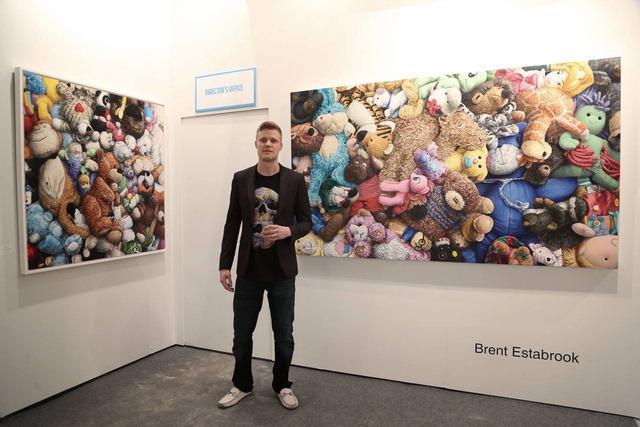 Artist Brent Estabrook