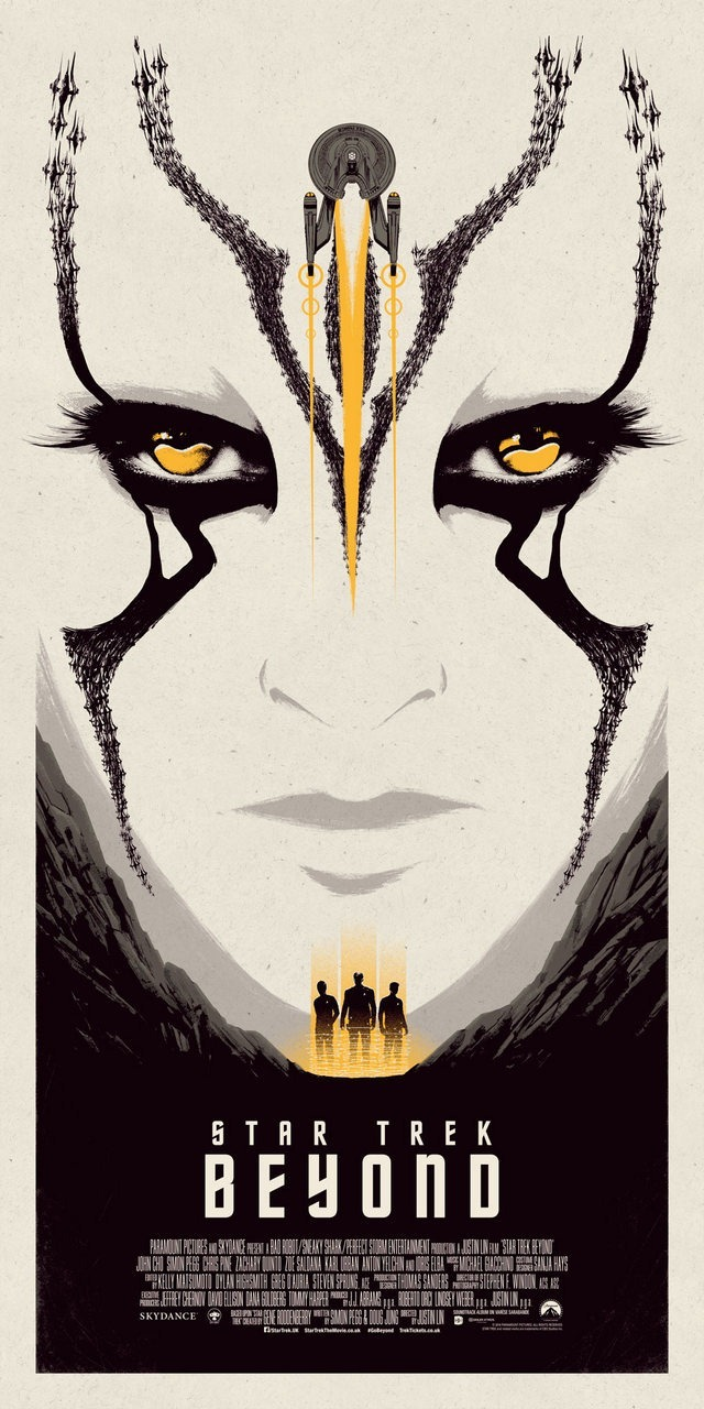 Star Trek Beyond Print Yellow Edition by Matt Ferguson