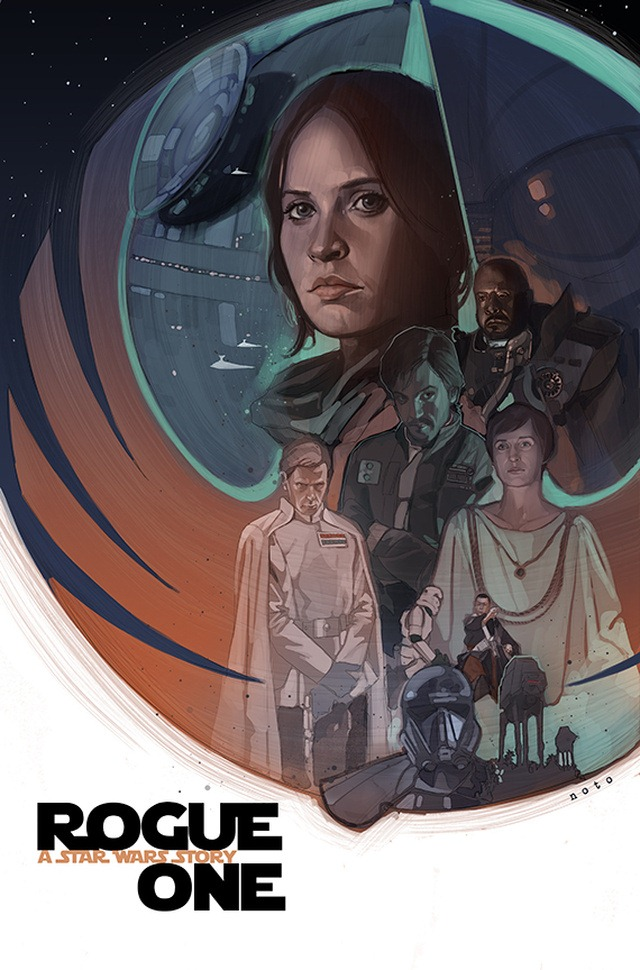 ROGUE ONE by Phil Noto