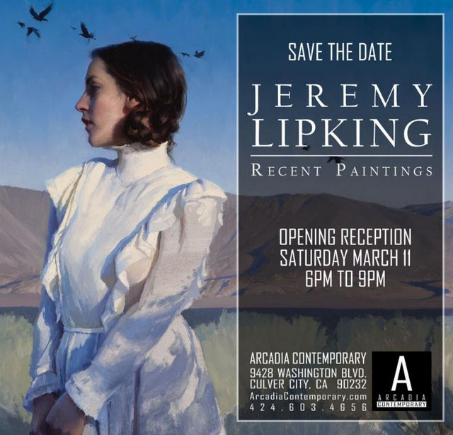 Jeremy Lipking's Recent Paintings Exhibit at Arcadia Contemporary @ Arcadia Contemporary | Culver City | California | United States