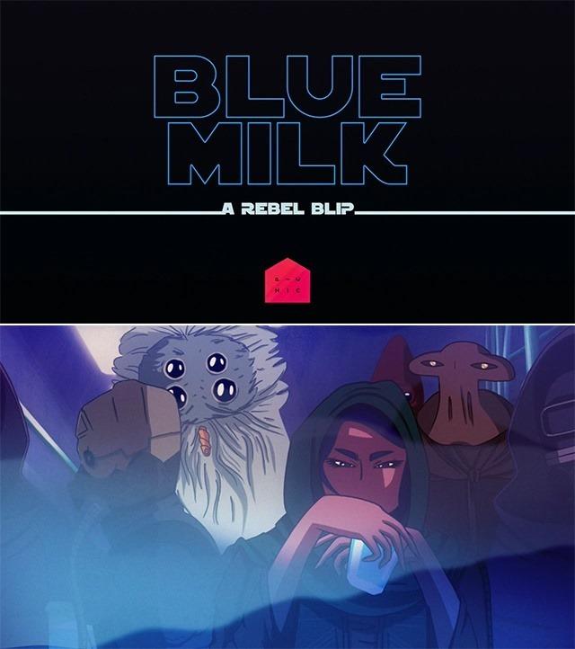 Blue Milk- Short Fan Made Film Based on the Star Wars Trilogy