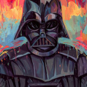 Darth-Vader-Star-Wars-Painting-by-Rich-Pellegrino