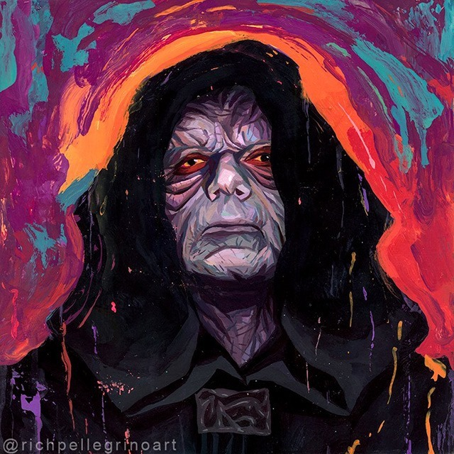 Emperor-Darth-Sidious-Star-Wars-Painting-by-Rich-Pellegrino