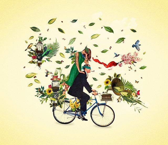 Pedaléyele!-Digital-Art-Collages-by-Orbeh-Studio
