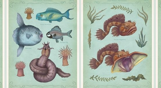 Crazy Monster Sea Creatures Illustrations by VLAD stankovic 05