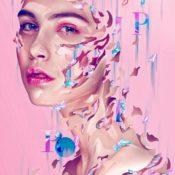 'Porcelain Dollz' - Digital Fashion Portraits by Dielm Bizarre