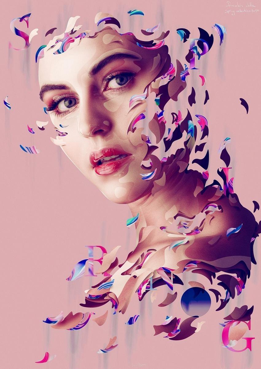 Dielm Bizzare Porcelain Dollz Digital Portraits 03