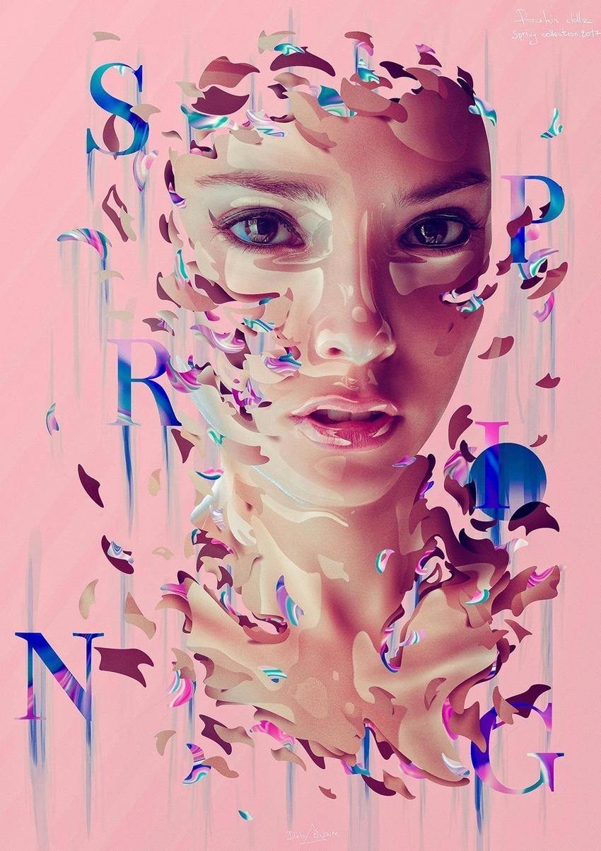 Dielm Bizzare Porcelain Dollz Digital Portraits 11