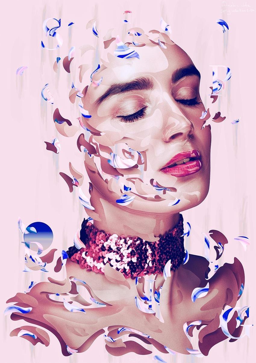 Dielm Bizzare Porcelain Dollz Digital Portraits 12