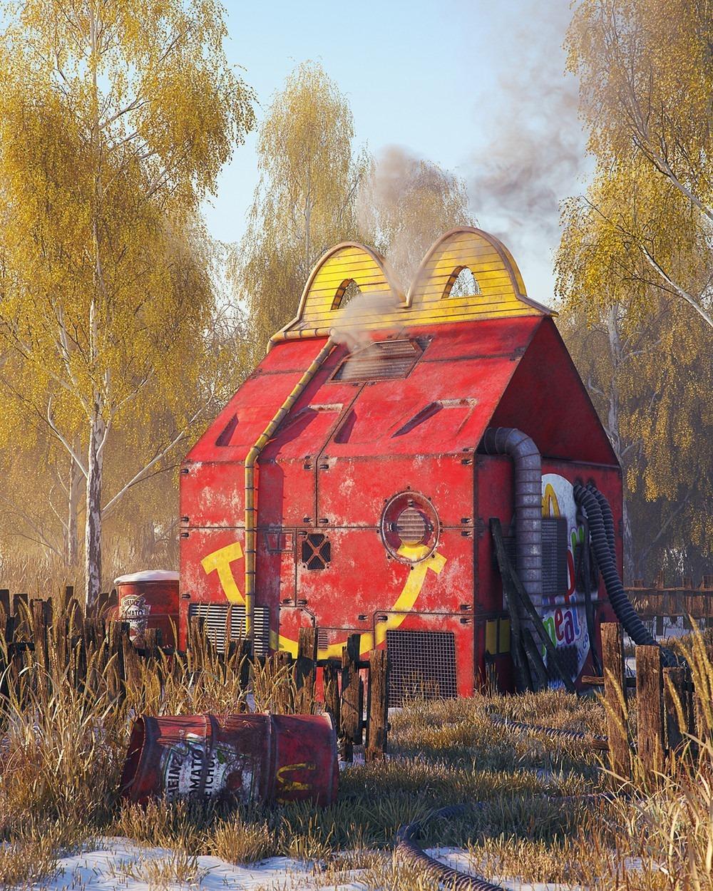 Happy Meal McDonalds Pop Culture Dystopia Filip Hodas