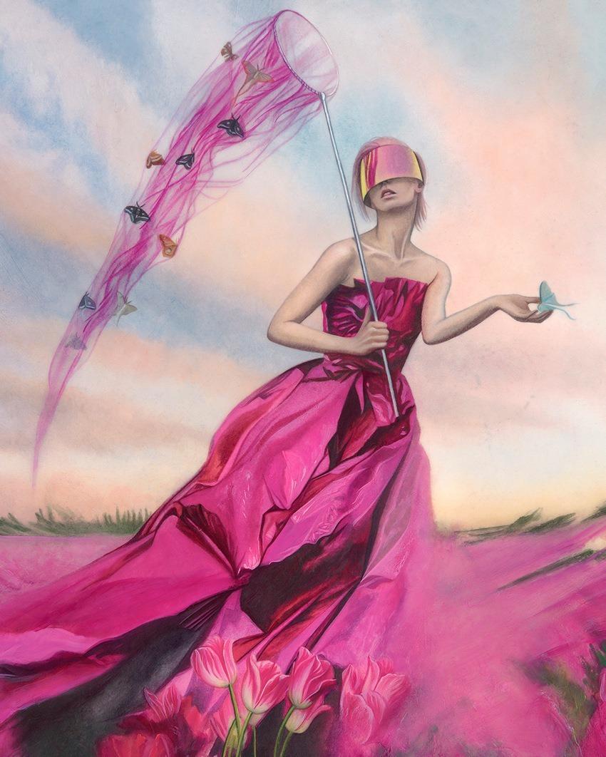 Redd Walitzki-The-Butterfly-Catcher-1500-detail - Copy