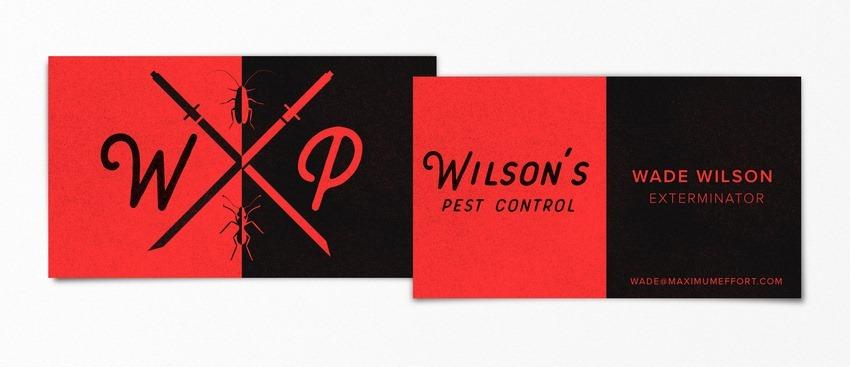 Wade Wilson Deadpool pop-culture-business-card-15