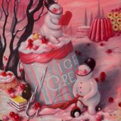 "Brandi Milne's ""Once Upon a Kingdom"" Pop Surrealism Art Show at Corey Helford Gallery"