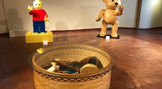 Trinket-box-teddy-and-let-go-man-sculptures-by-John-Abery-Featured