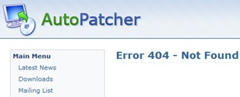 Read more about the article The End Of Autopatcher