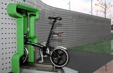 Read more about the article Bike Dispensing Machine From Amsterdam
